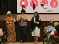 Uma Chakravarti, Priyanka Chhabra and Anupama Chandra in conversation following the screening of Pichla Varka by Priyanka