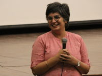Pearl Sandhu, following the screening of Banaras Pink