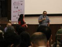 Anandana Kapur and Avijit Mukul Kishore following the screening of Squeeze Lime in your Eye by Avijit Mukul