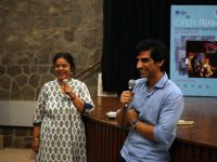 Aanchal Kapur and Pankaj Johar, following the screening of Making India Accessible