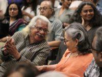 Adoor Gopalakrishnan and Sharmila Tagore
