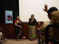 Aparna Sanyal and Vani Subramanian, following the screening of The Holy Duels of Hola Mohalla