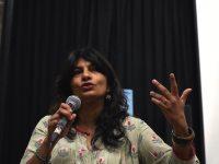 Bindu Nair, following the screening of Notes on Martial Violence