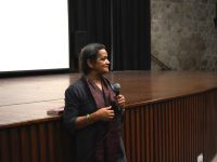 Ein Lall, following the screening of Rehearsals for Tomorrow