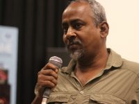 Pratik Biswas, following the screening of On and Off the Records