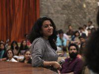 Priya Thuvassery, following the screening of My Sacred Glass Bowl