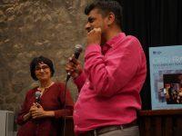 Sabeena Gadihoke and Rohan Shivkumar, following the screening of Lovely Villa