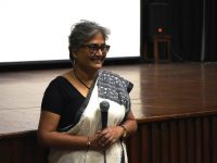 Swati Chakraborty, following the screening of Person with Desires